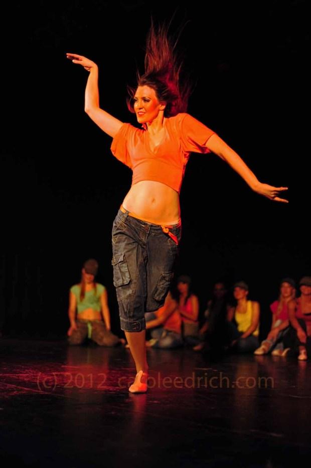 amateur samba performer