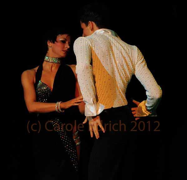 Dora Bakaity and partner performing at the DanceMyWay 2011 Gala