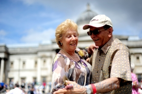 Trafalgar Square Tea Dance