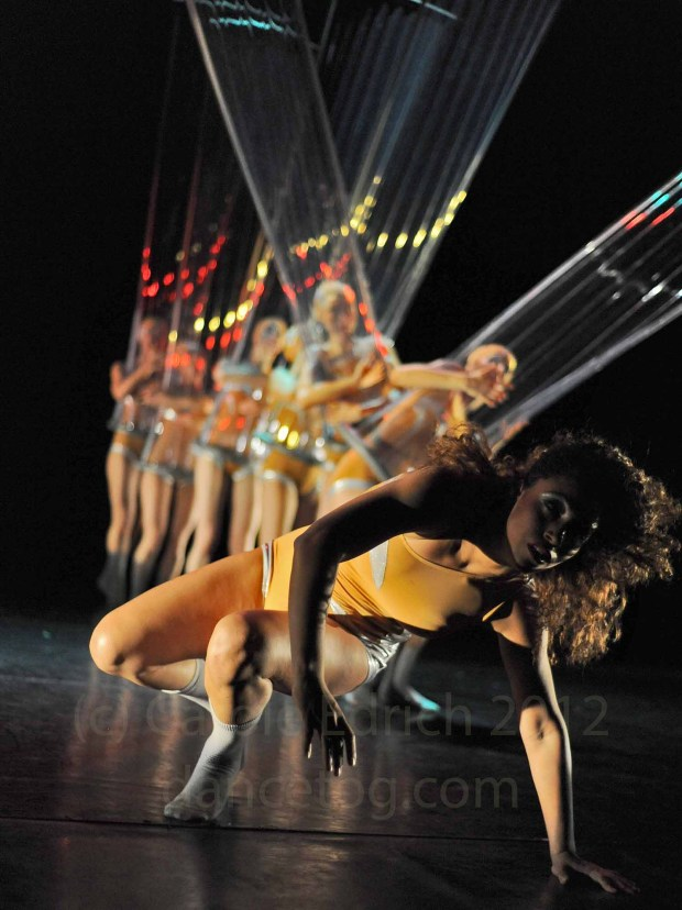 LCP Dancers using transparent props in the production of 'Rights (?)'