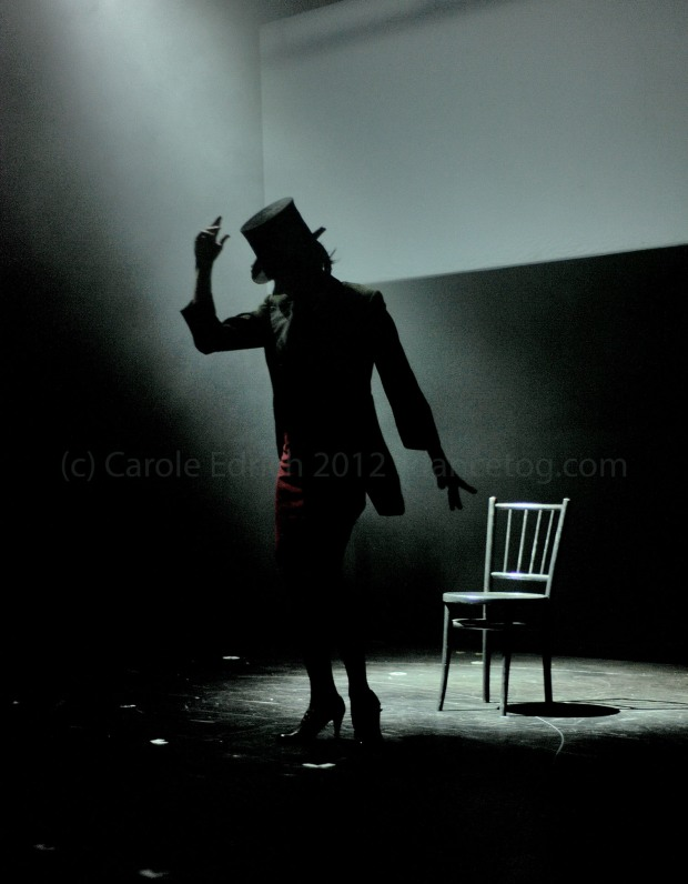 Pedro Ruiz at the Flying Fleas production 'Top Hats and High Heels'