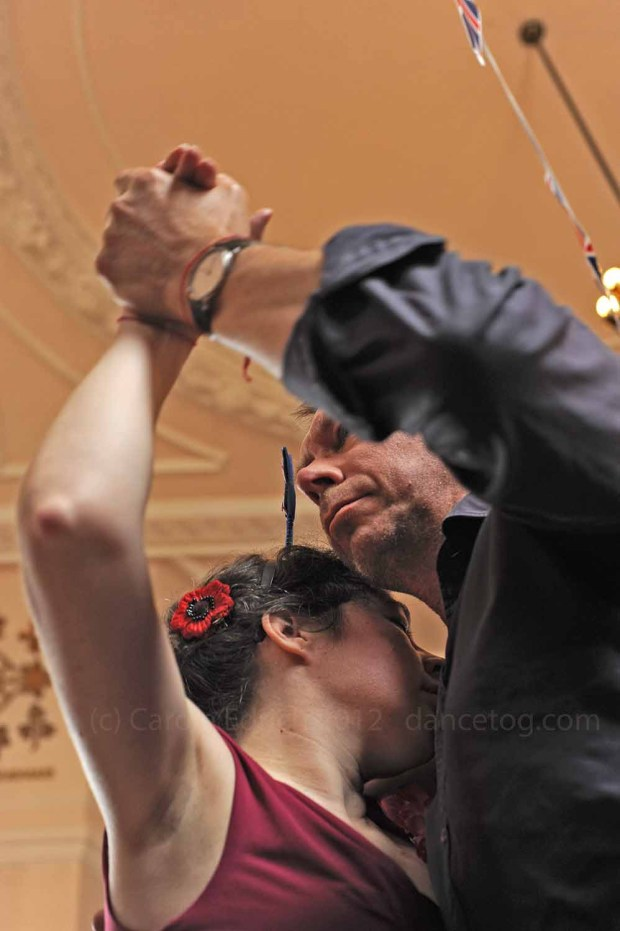 Jubilee tango at Abrazos, London