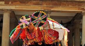 peruvian dancers in london