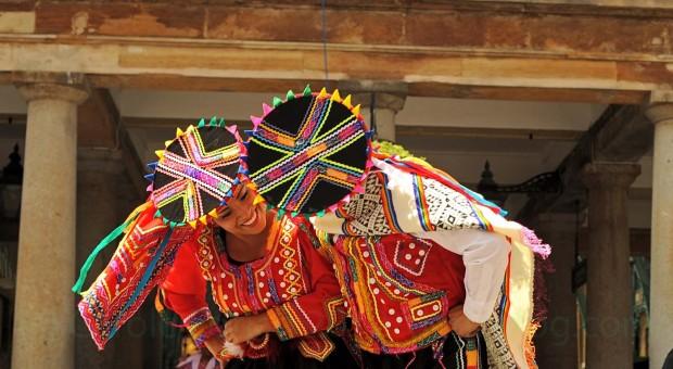 peruvian dancers in london