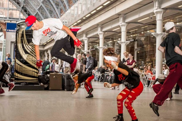 Hype Dance Company, at St Pancras International
