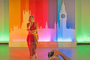 Anusha Subramanyam dancing 'My beloved My lover' at Arts In Parliament