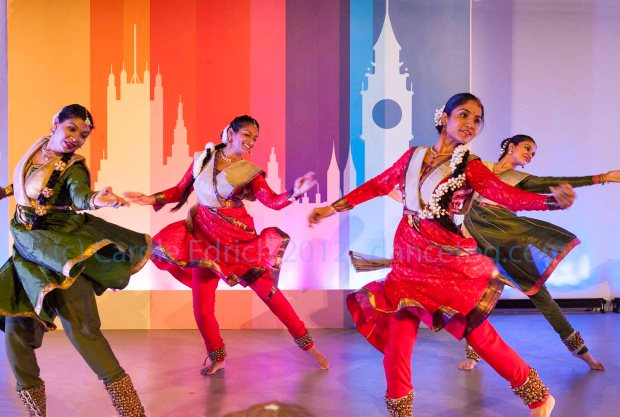 Triveni Dance Company performing PratapPawar at Westminster Hall