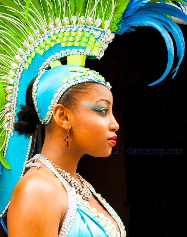 Carnival Dancer at Celebration of Tobago's Independence in London