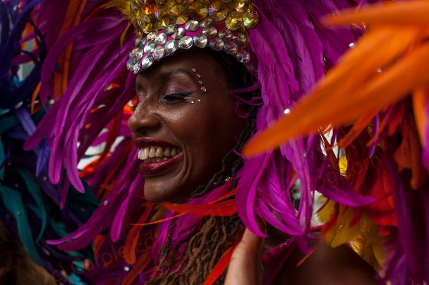 Notting Hill Carnival 2012 with Poison, (c) Carole Edrich 2012