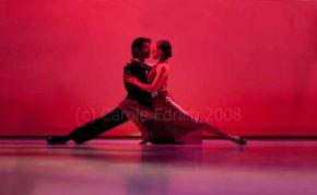 Kim and David Benitez dancing tango at Sadler's Wells Dance Club, 2008