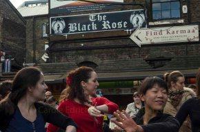 Flamenco Flashmob at Stables Market, Camden