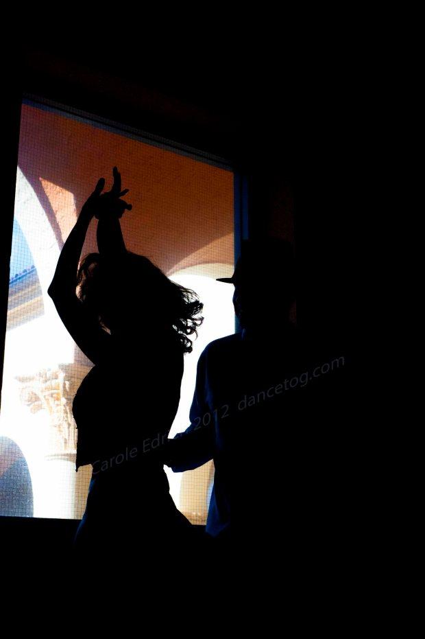 Salsa dancers at The Biltmore Hotel, Miami, interim image