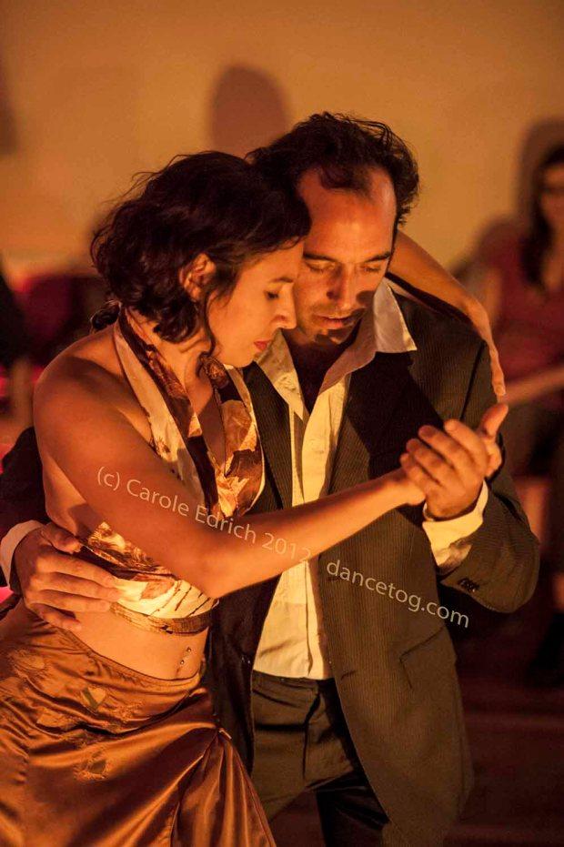 Josefina and Francisco Leiva at Rojo y Negro