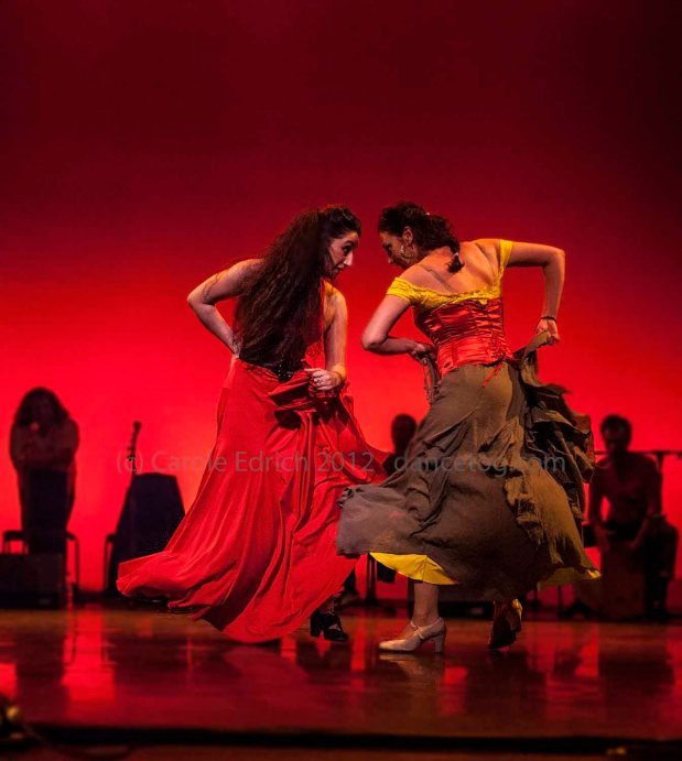 Carmen performed by students of Escuela de Baile at the Peacock Theatre