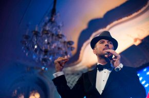 Matt Goss at the Savoy Hotel London on Sunday 4th November. A surprise performance at the British Guild of Travel Writers' Annual Dinner, sponsored by Las Vegas