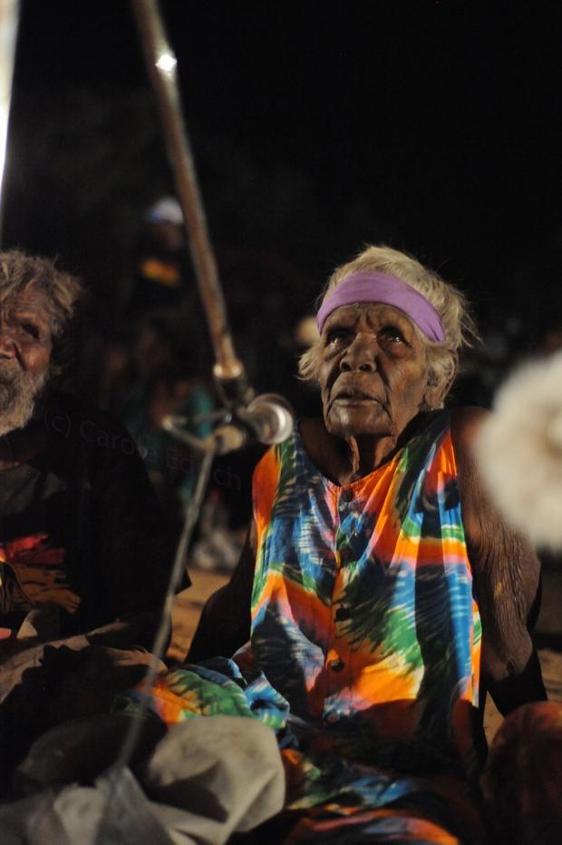 Aboriginal Elder at the KALACC Festival in 2011