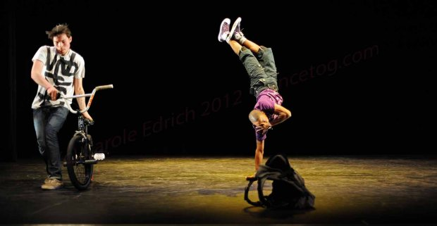 Bicycle Ballet with BMXs at East London Dance