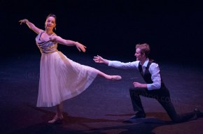 Dancers performing Anton Du Beke's 'Easty to Love' at the Lilian Baylis Theatre