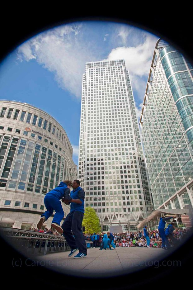 Tomorrow's Men at Canary Wharf