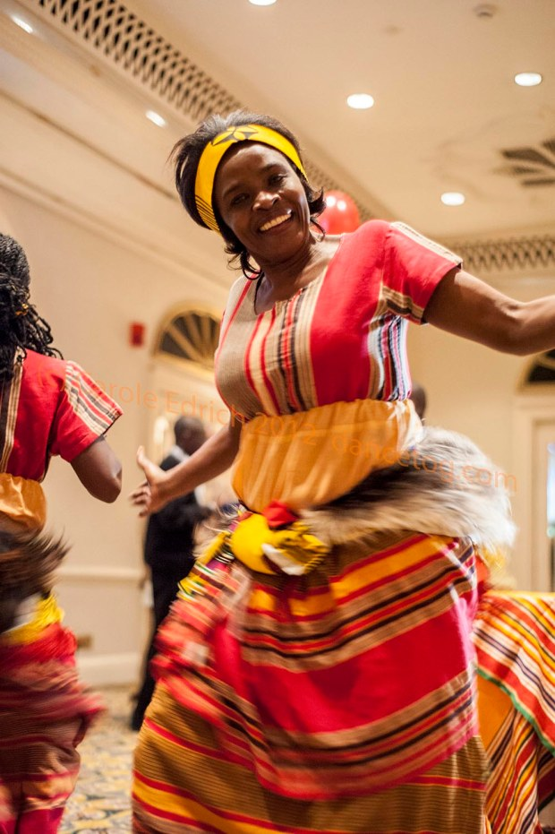 Ugandan national dancers