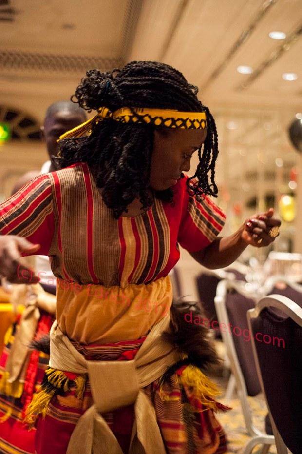Ugandan dancers in London