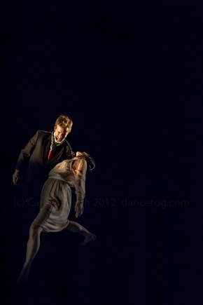 Dancers performing Easy To Love, choreographed by Anton Du Beke as part of Words Worth