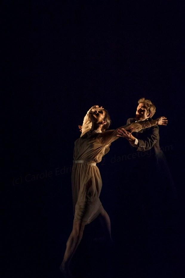 Dancers performing Easy to Love, choreographed by Anton Du Beke