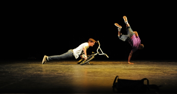 Bicycle Ballet at Dance Currents 2010