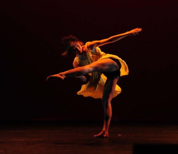 Dancer at 60x60, Stratford Circus 2010