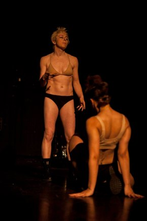 Avant Garde dancers performing Black Album, (c) Carole Edrich 2012