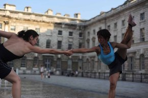 Shobhana Jeyasingh's Counterpoint at Somerset House, (c) Carole Edrich 2010