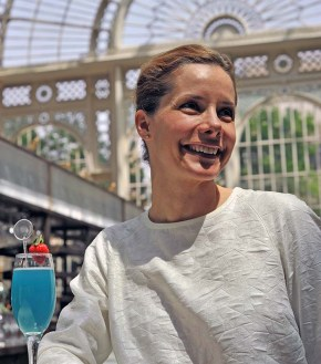 Darcey Bussell at the Royal Opera House, Summer 2012, (c) Carole Edrich 2012