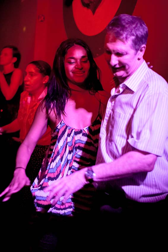Dancers at the Stags Head in Dalston, (c) Carole Edrich 2013