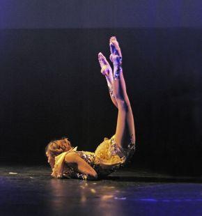 JackieLe at the Flying Fleas, (c) Carole Edrich 2012