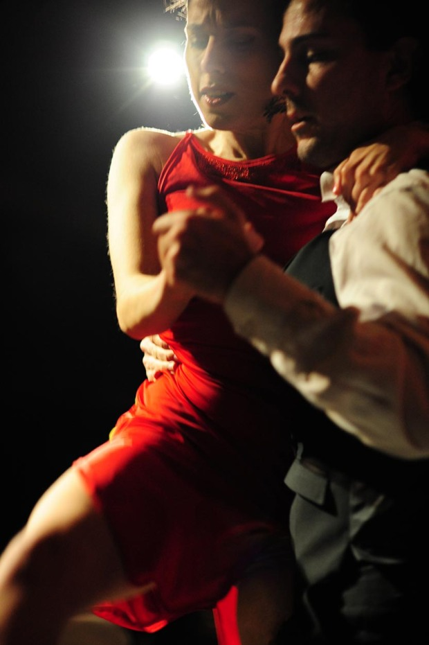 Electro tango performers at Gaucho Picadilly, (c) Carole Edrich 2013