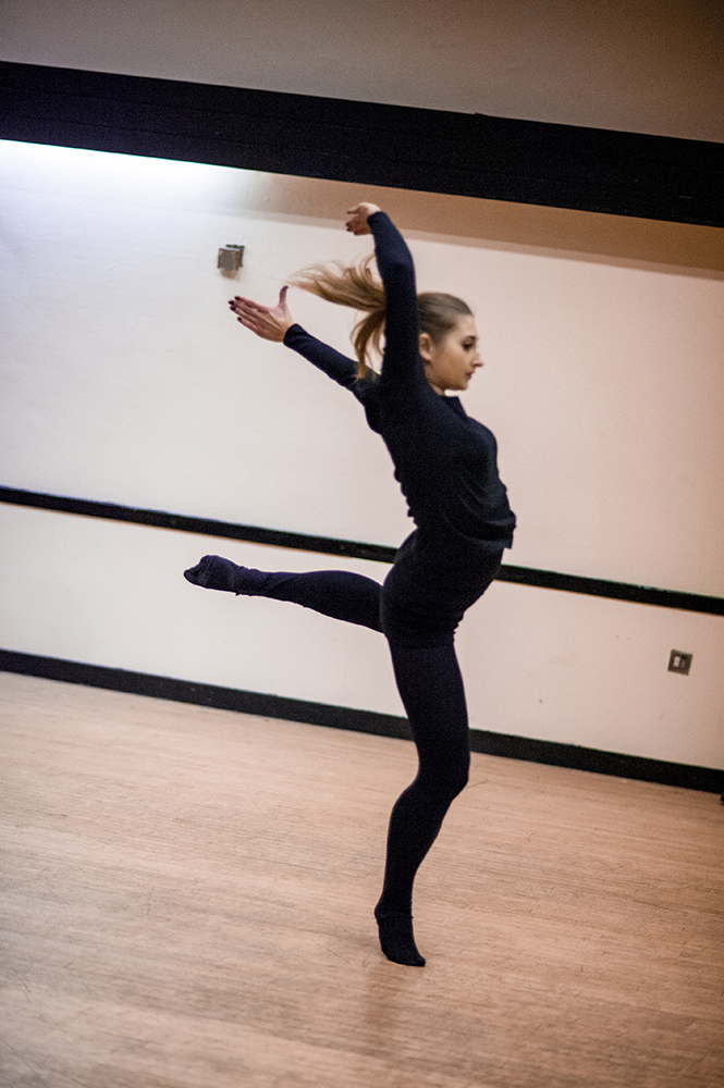 OBR dancer at the last rehearsal, (c) Carole Edrich 2013
