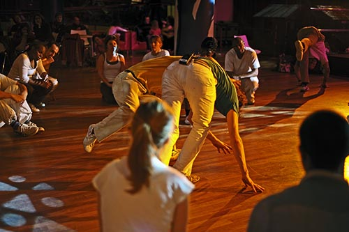 Capoeira at South Bank, 2011. (c) Carole Edrich 2011