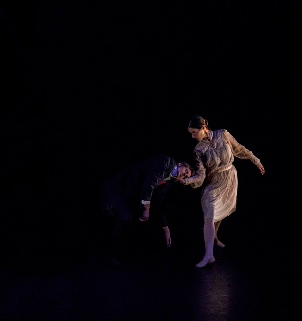 Words Worth at Lilian Baylis Theatre, Anton du Beke's first, contemporary choreography (c) Carole Edrich 2012