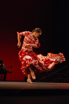 Rocio Molina at Sadler's Wells in 2009, (c) Carole Edrich 2009