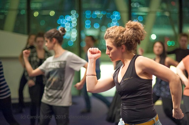OBR Flashmob Rehearsals at the City Hall, (c) Carole Edrich 2013