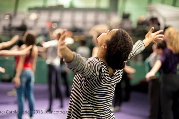 OBR Flashmob Rehearsals at London's City Hall, (c) Carole Edrich 2013