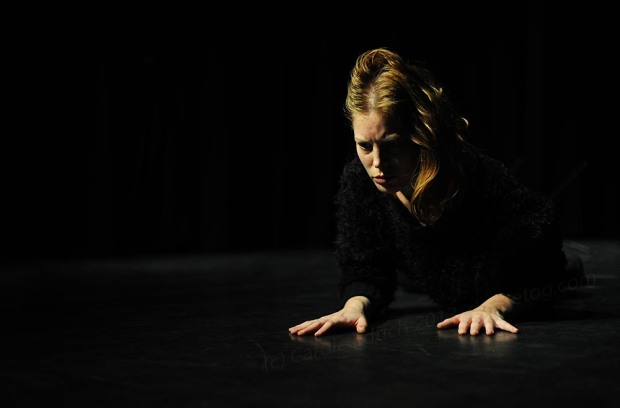 Sharing performed by Louise Ahl at Nottdance, (c) Carole Edrich 2013