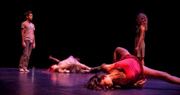 Alias performing Sideways Rain at Nottdance, (c) Carole Edrich 2013