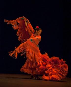 Pastora Galvan, guesting with Ballet Flamenco de Andalucia at Sadler's Wells Flamenco Festival 2013, (c) Carole Edrich 2013