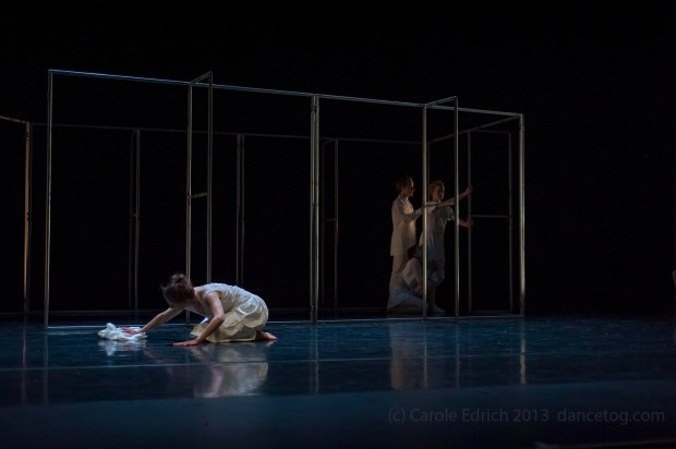 Witch-hunt at the Linbury Theatre Studio, Royal Opera House, (c) Carole Edrich 2013