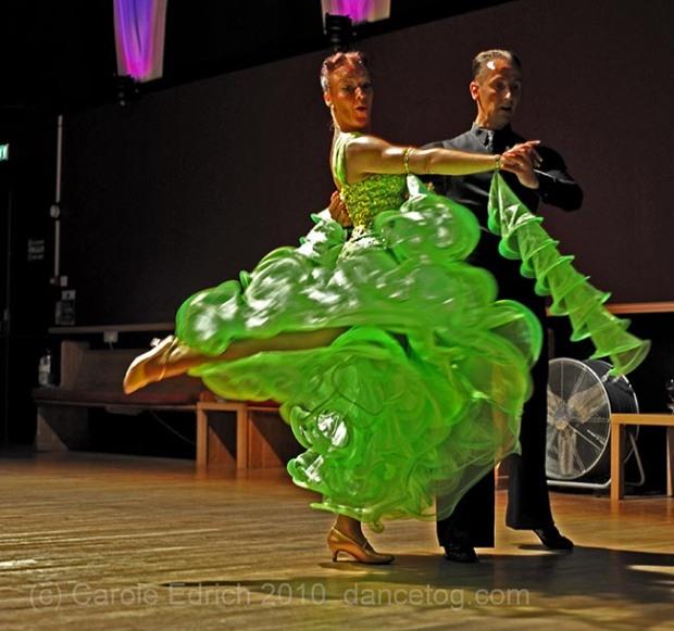 Dancers at Newbury Ballroom, (c) Carole Edrich 2010