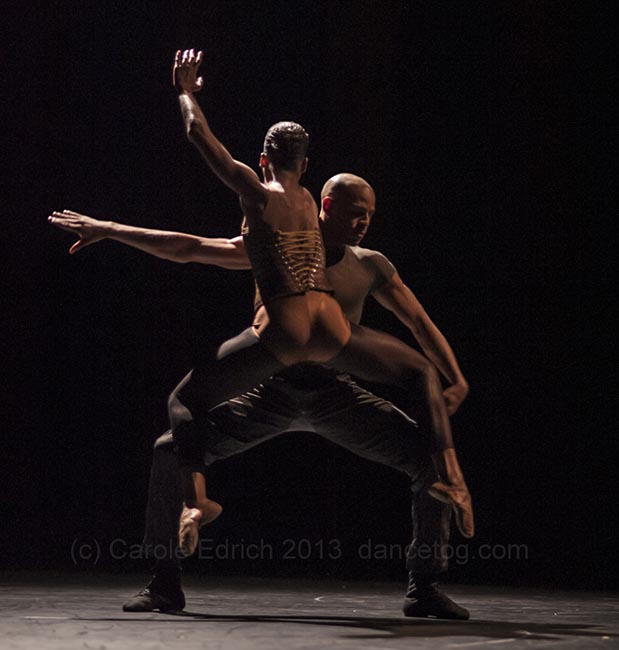 Cedar Lake Contemporary Ballet at Sadler's Wells, September. (c) Carole Edrich 2013
