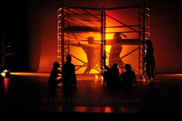 Illegal Dance, Tony Adigun. (c) Carole Edrich 2011