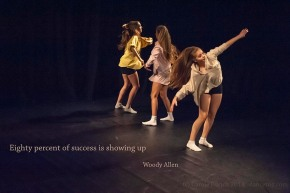 One Youth Dance performing in Presence, (c) Carole Edrich 2013
