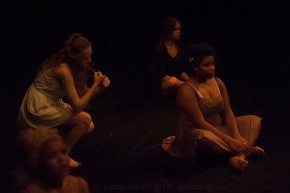 One Youth Dance performing Landfill, Platform, London (c) Carole Edrich 2013